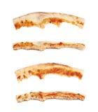 Изолированная корка пиццы Стоковая Фотография RF