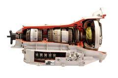 Изолированная коробка передач автомобиля Стоковые Фото