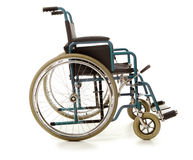 изолированная кресло-коляска Стоковое Фото
