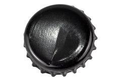 изолированная крышка бутылки стоковое изображение