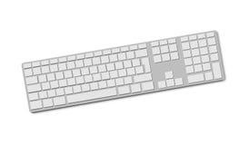 Изолированная клавиатура Peripherals Иллюстрация штока