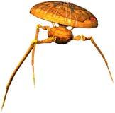 Изолированная машина нападения чужеземца марсианская Стоковые Фотографии RF