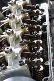 Изолированная модель cutaway двигателя корабля Стоковые Изображения RF
