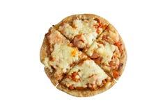 Изолированная пицца сосиски Стоковые Изображения RF