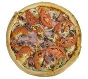 изолированная пицца Стоковые Изображения