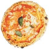 Изолированная пицца Margherita Стоковое фото RF