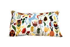 Изолированная подушка цвета Стоковые Фотографии RF