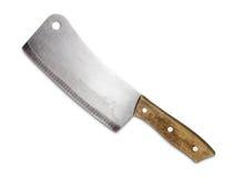 изолированная предпосылкой белизна ножа Стоковое фото RF