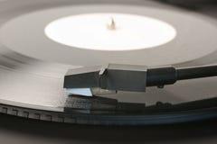 изолированная предпосылкой рекордная белизна винила Стоковая Фотография RF