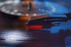 изолированная предпосылкой рекордная белизна винила Стоковое Изображение RF