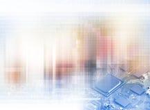 изолированная принципиальной схемой белизна технологии Стоковое Фото