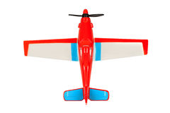 изолированная плоская белизна игрушки Стоковая Фотография