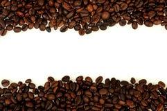 Изолированная рамка кофе Стоковая Фотография RF