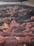 изолированная решетка барбекю Стоковое Фото