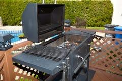 изолированная решетка барбекю Стоковая Фотография