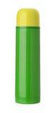 Изолированная склянка Thermos стоковое изображение rf