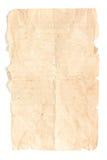 изолированная старая бумага Стоковое фото RF