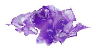 Изолированная съемка брызгать краски Стоковая Фотография