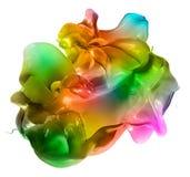 Изолированная съемка брызгать краски Стоковые Изображения RF