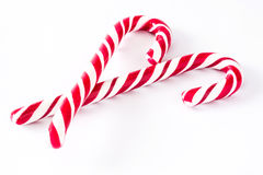 Изолированная тросточка конфеты Стоковые Фотографии RF