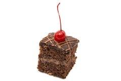 изолированная часть торта губки Стоковое Изображение RF