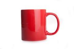 Изолированная чашка Стоковое Изображение