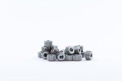 Изолированная шестерня шестерен металла Стоковые Фотографии RF