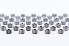 Изолированная шестерня шестерен металла Стоковое Изображение RF