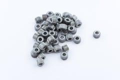 Изолированная шестерня шестерен металла Стоковая Фотография RF