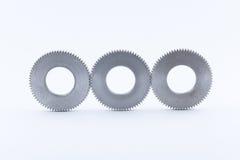 Изолированная шестерня шестерен металла Стоковые Изображения RF