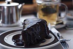 изолированная шоколадом фисташка расстегая марципана померанцовая стоковое фото rf