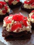 изолированная шоколадом фисташка расстегая марципана померанцовая Стоковое Изображение
