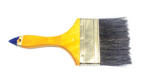 изолированная щеткой белизна краски Стоковая Фотография RF