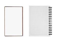 2 изолированного блокнота Стоковое Изображение RF