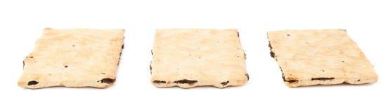 3 изолированного печенья шутихи Стоковое Изображение