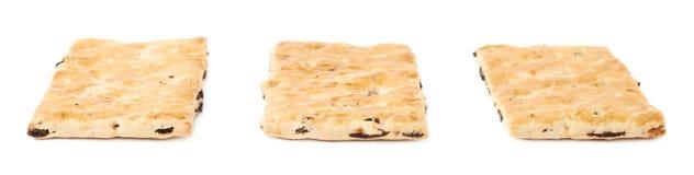 3 изолированного печенья шутихи Стоковая Фотография RF