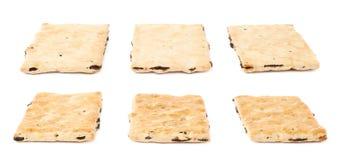 3 изолированного печенья шутихи Стоковые Изображения