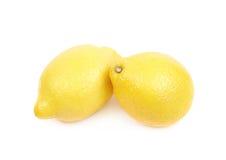 2 изолированного плодоовощ лимона Стоковое Изображение RF