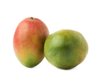 2 изолированного плодоовощ манго Стоковые Изображения