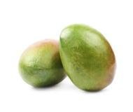 2 изолированного плодоовощ манго Стоковые Фотографии RF