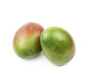 2 изолированного плодоовощ манго Стоковые Фото
