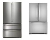 2 изолированного холодильника Стоковое Фото