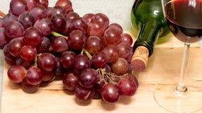 изолированное вино waite om красное Стоковое Изображение RF