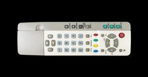 Изолированное дистанционное управление TV Стоковые Изображения RF