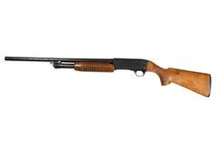 Изолированное корокоствольное оружие действия насоса Стоковые Фотографии RF