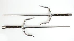 Изолированное оружие Sai Стоковая Фотография RF