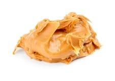 Изолированное распространение арахисового масла Стоковые Фото