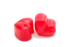 Изолированное сердце мыла Стоковые Фотографии RF
