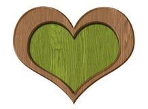 изолированное сердце Стоковая Фотография