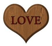 изолированное сердце Стоковое Изображение